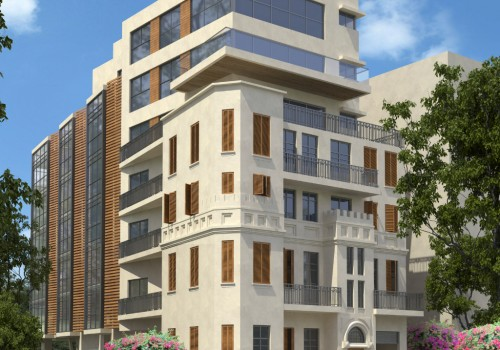 למכירה – דירת 4 חדרים, בבניין לאחר שימור – בלב העיר