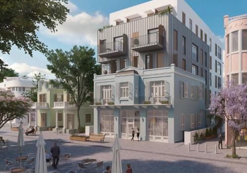 למכירה בפרויקט לשימור בנחלת בנימין – דירת פנטהאוז