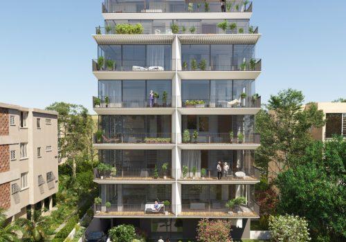 בפרויקט יוקרה בצפון הישן, במיקום סופר מרכזי, וברחוב שקט, דירות בוטיק מפוארות.
